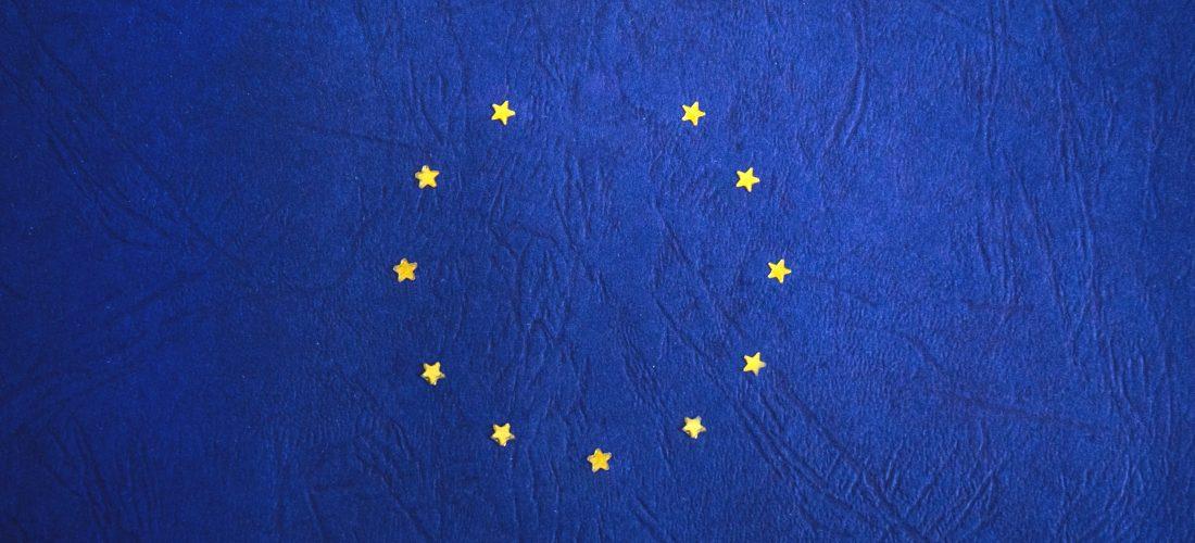 EU Flagge mit fehlendem Stern