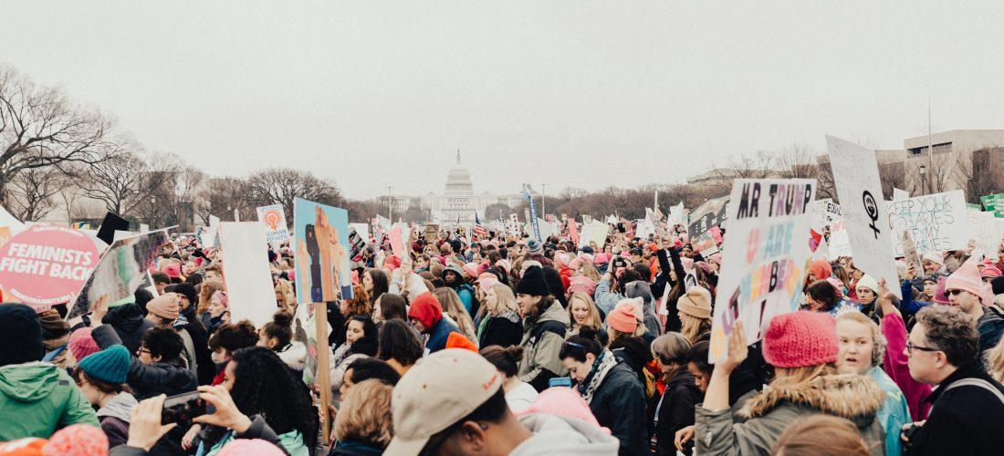 Protest in Washington DC