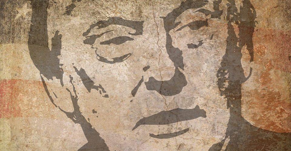 Grafitti von Donald Trump