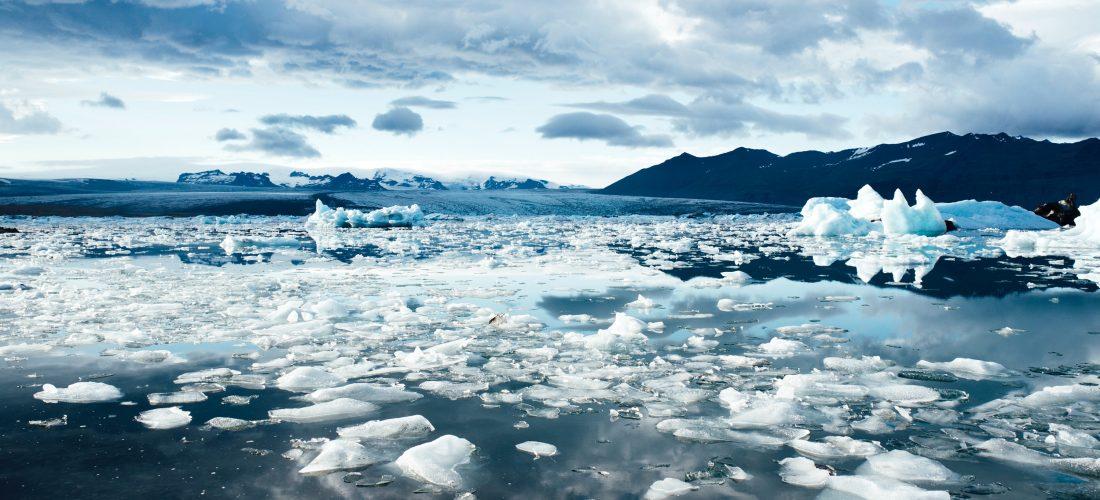 Das Polarmeer am Nordpol